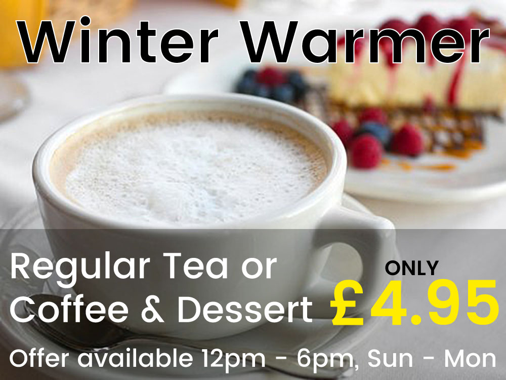 Lemon Tree Restaurant, Coffee & Dessert Offer, Barnsley
