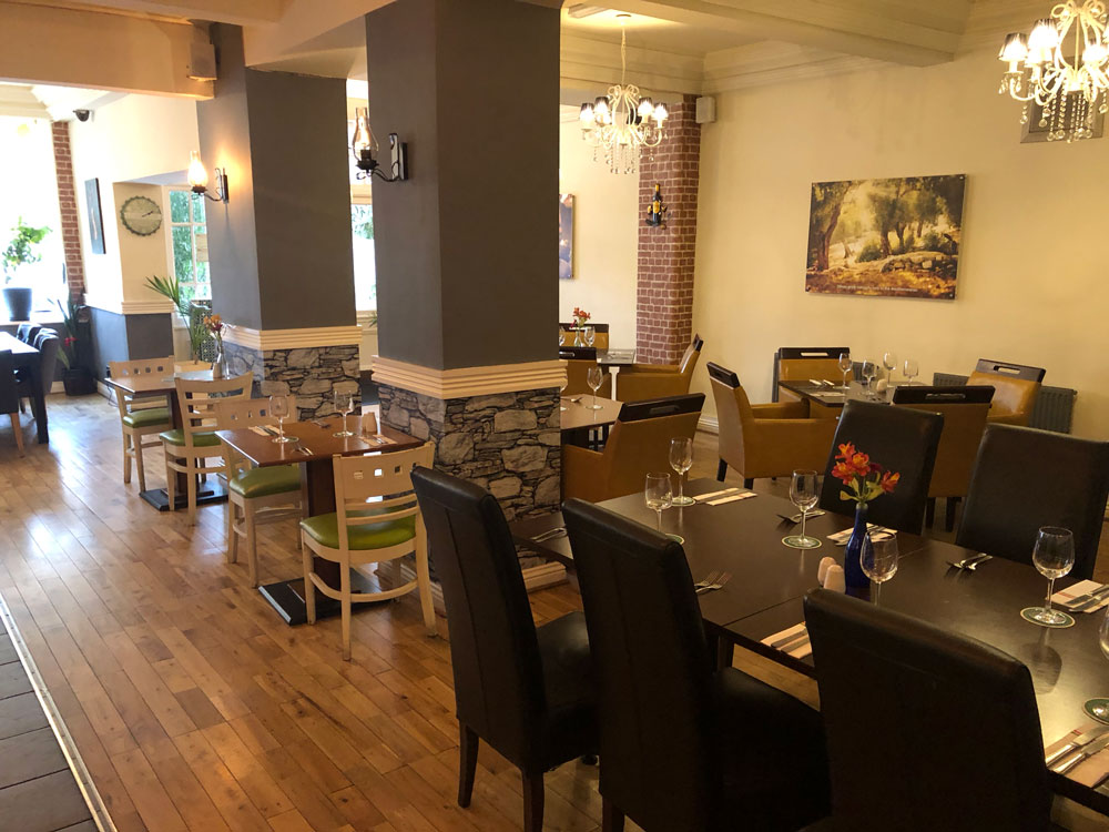 Lemon Tree Restaurant & Bar, Barnsley - Seating Area