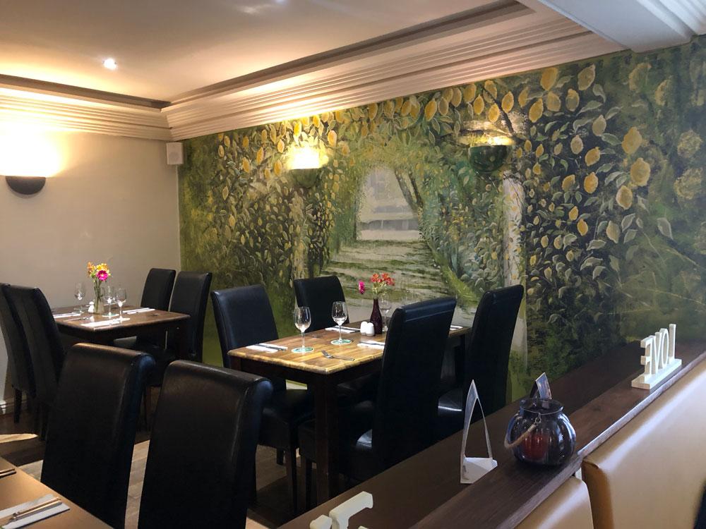 Lemon Tree Restaurant & Bar, Barnsley - Table Layout